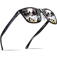 ATTCL Uomo Occhiali da sole polarizzati Al-Mg Metallo Cornice Super Light