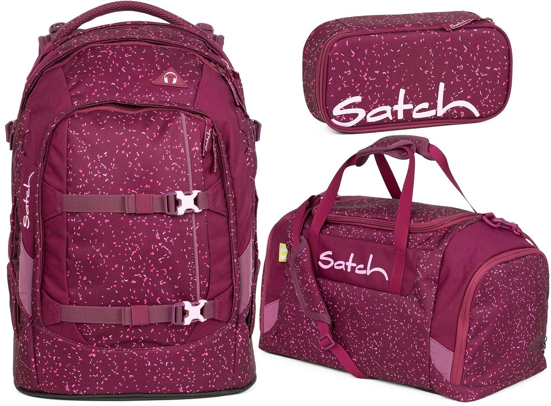 Satch Klatsch Beauty Wallet Berry Bash