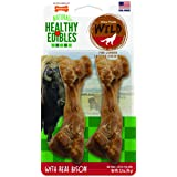 Nylabone Healthy Edibles Wild Dog Treats | Dog Treats Made in The USA Only | Small, Medium and Large Dog Chew Treats