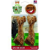 Nylabone Healthy Edibles Wild Dog Treats | Dog Treats Made in The USA Only | Small, Medium and Large Dog Chew Treats