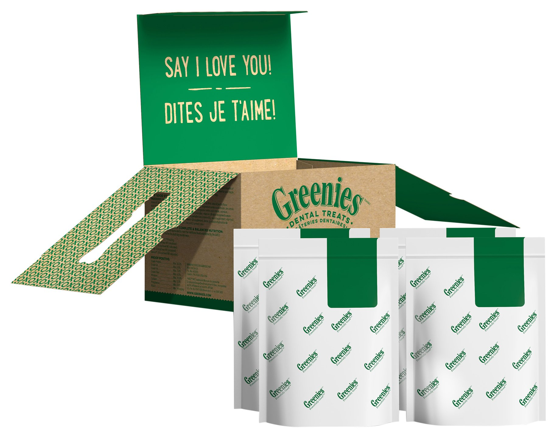 GREENIES Original Petite Dog Dental Chews - 72 Ounces 120 Treats