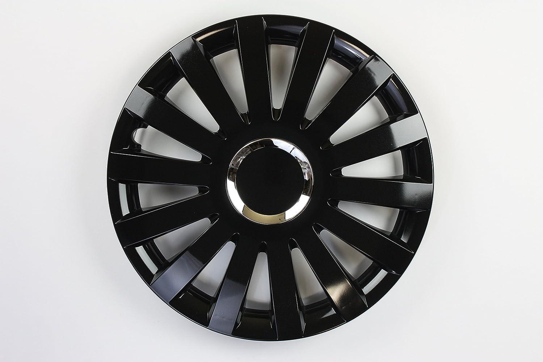 ZentimeX Z731701 Radkappen Radzierblenden universal 17 Zoll black