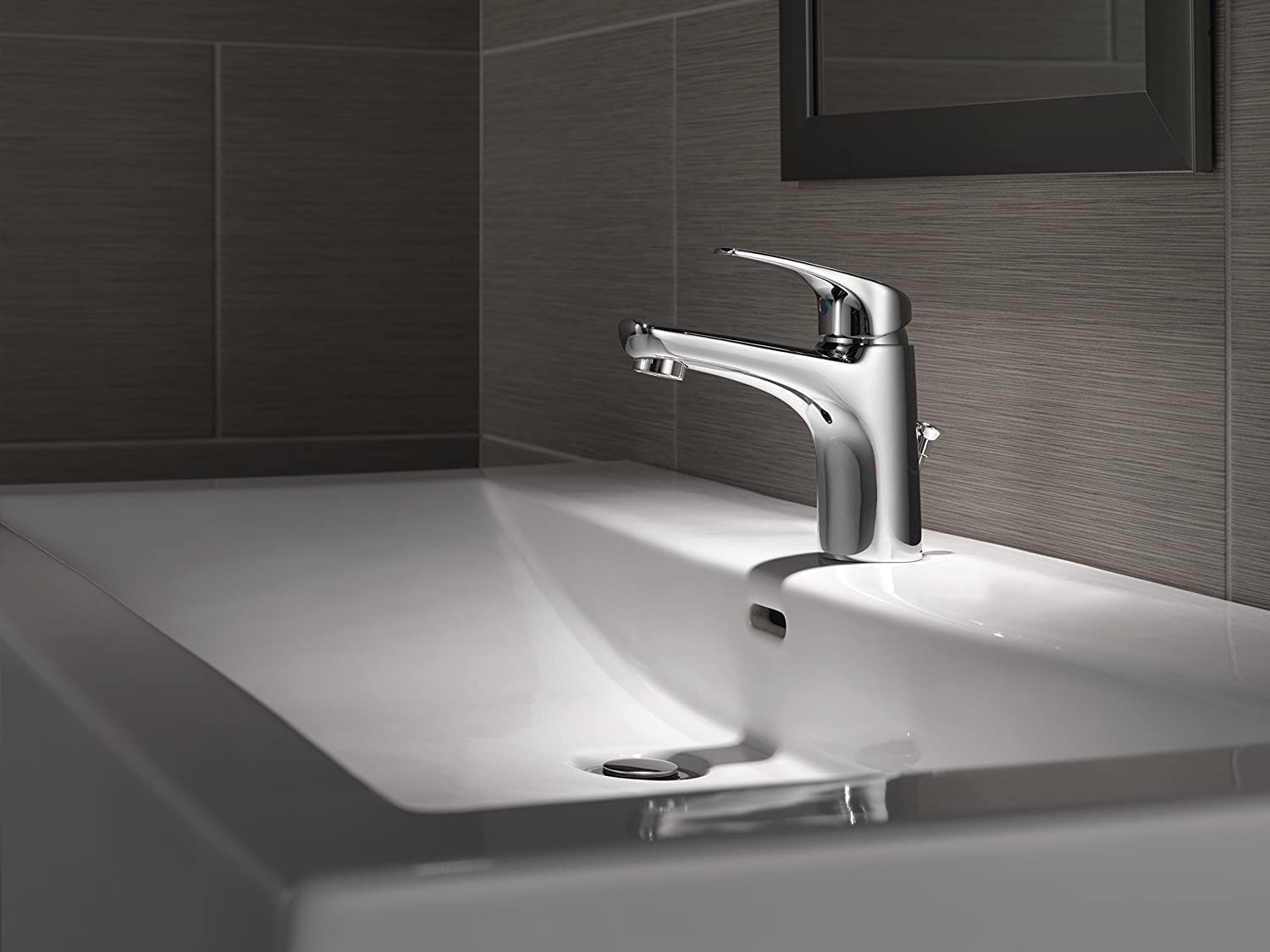 Amazon.com: Delta Faucet 534LF-PP Other Modern Single Handle ...