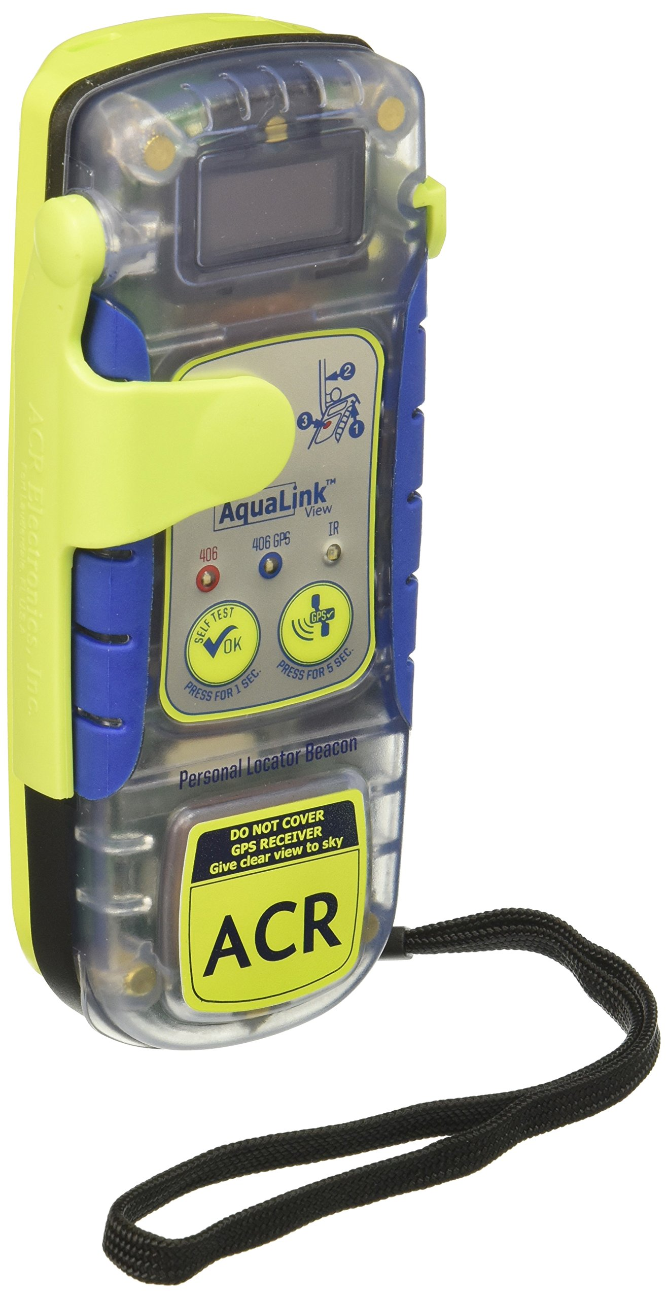 ACR Aqualink View PLB - Programmed for US Registration by acr