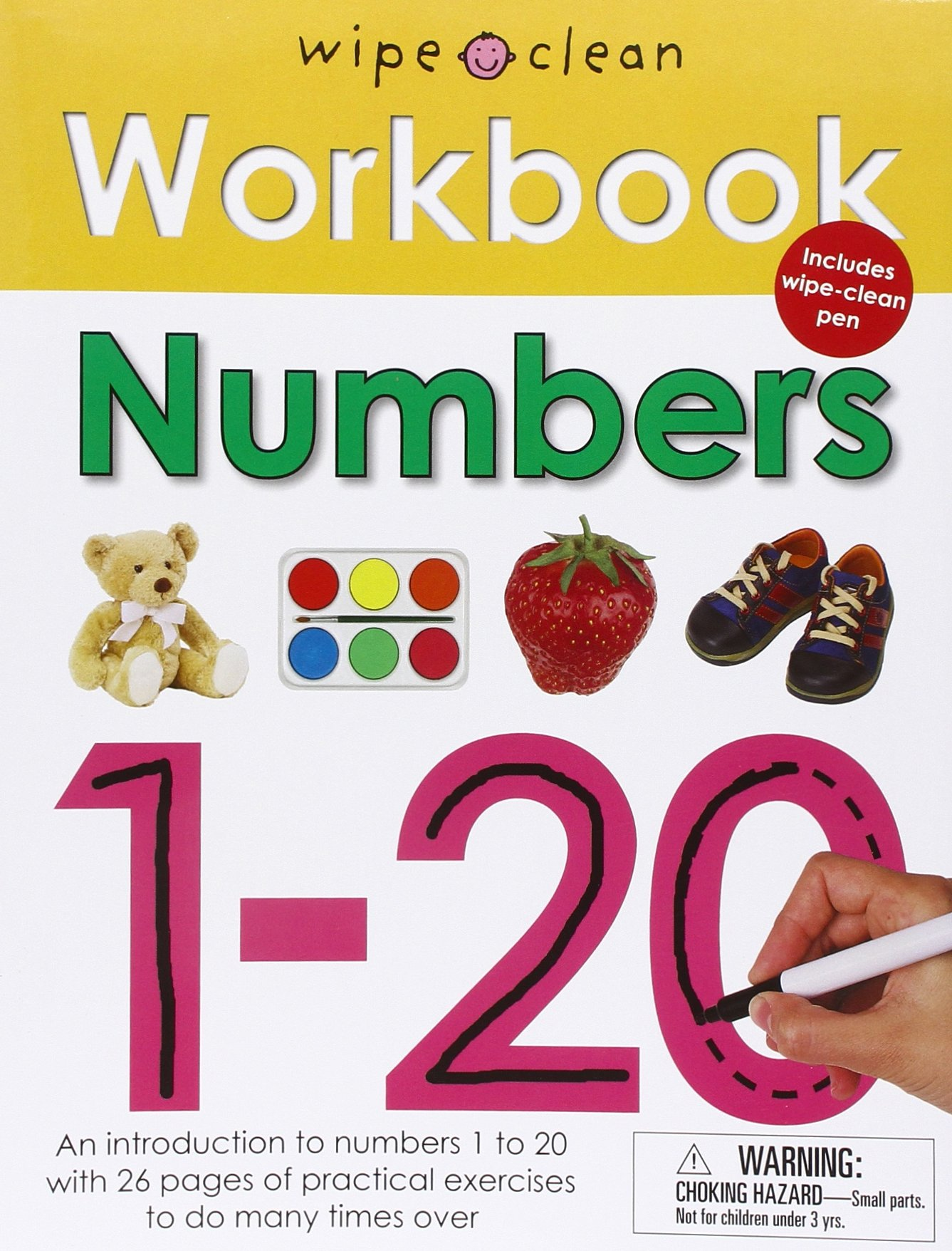Wipe Clean Workbook Numbers 1-20: Roger Priddy: 9780312508692 ...