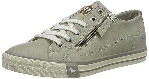 Mustang 1146-302, Zapatillas Para Mujer, Gris (Hellgrau), 40 EU: Amazon.es: Zapatos y complementos