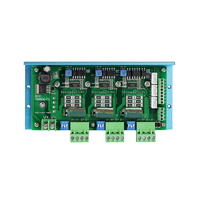 SainSmart CNC Router 3 Axis Kit, TB6600 3 Axis Stepper Motor Driver, on