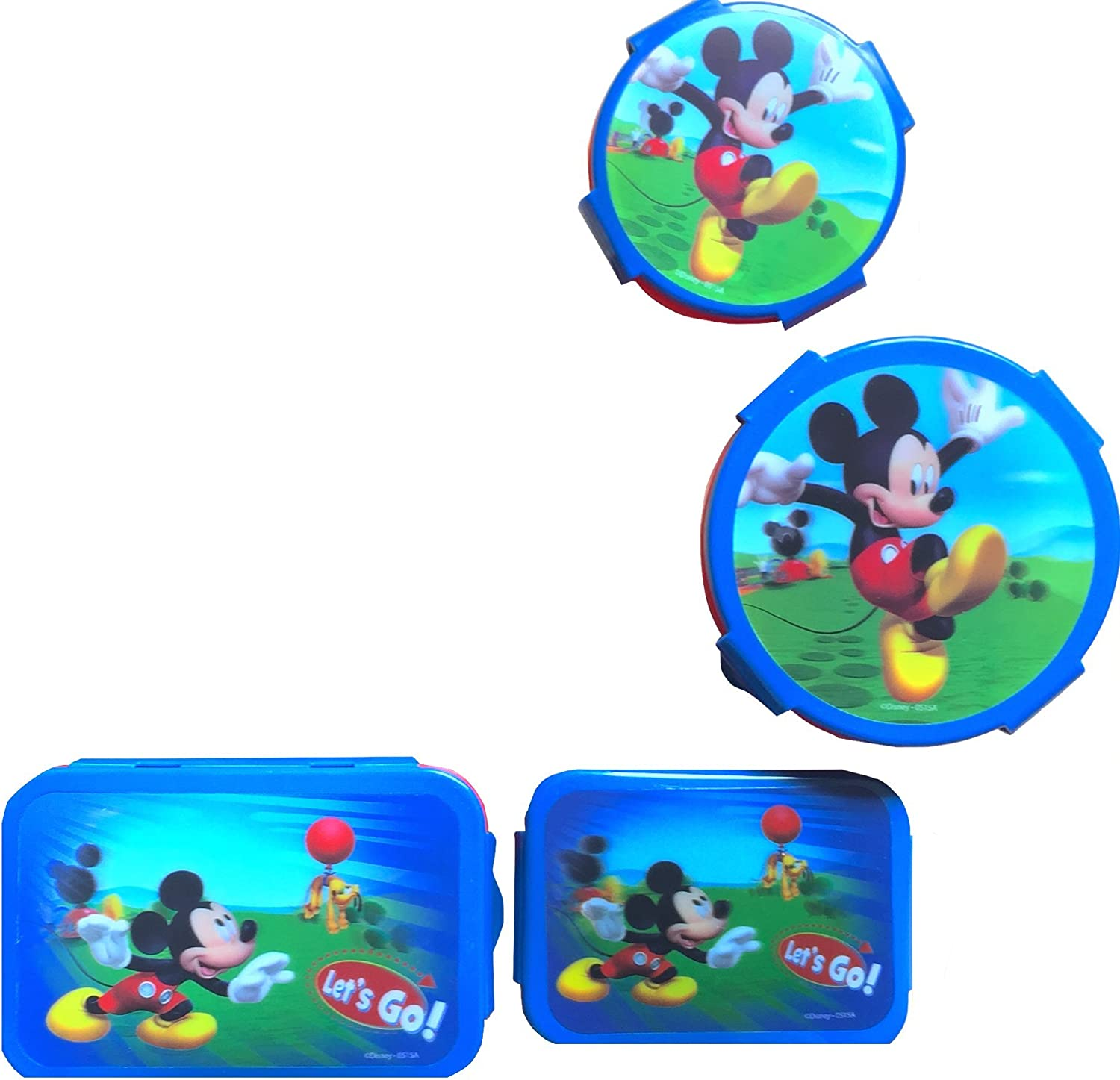 Disney Mickey Mouse Clubhouse Children/'s Backpack /& Lunch Box With 5 Pc Lunch Kit
