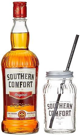 Southern Comfort Original In Geschenkpackung Mit Glas 1 X 0 7 L
