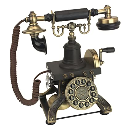Amazon.com: Design Toscano Antique Phone - The Eiffel Tower 1892 ...