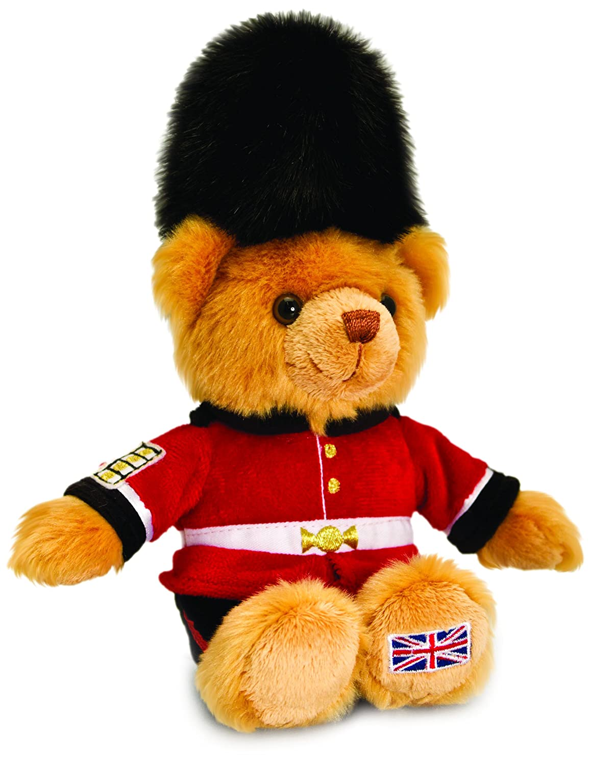 Amazon.com: London Beefeater Bear - Souvenir Soft Toy, Keel Toys 15 cm Teddy - SL4146 [Toy]: Home & Kitchen