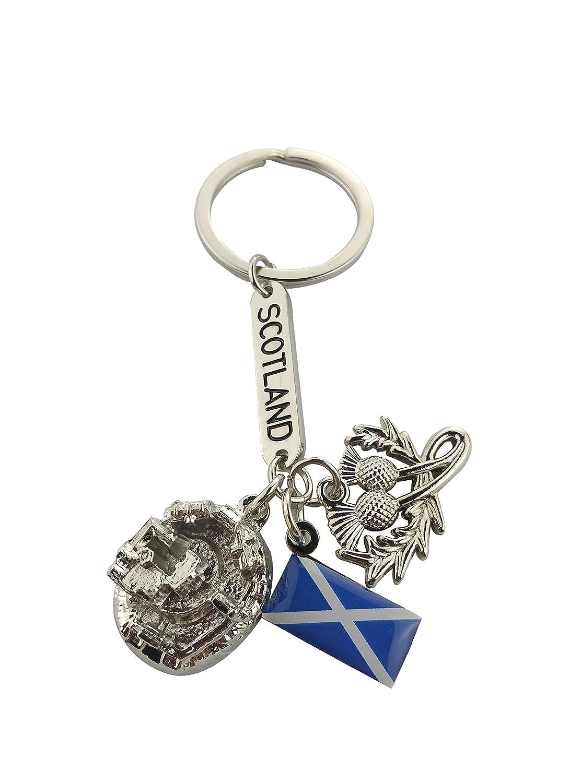 GREAT BRITAIN KEYRING ENGLAND SOUVENIRS SCOTLAND KEYRING SCOTTISH KEYCHAIN