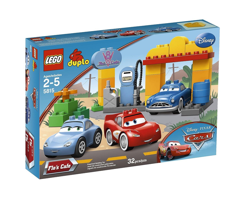 Amazoncom Lego Duplo Cars Flos Café 5815 Toys Games