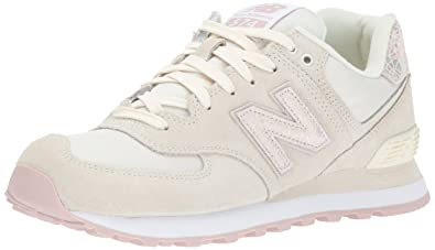 9aa98ddc007e New Balance Women s 574V1 Shattered Pearl Sneaker Angora Faded Rose 5 ...
