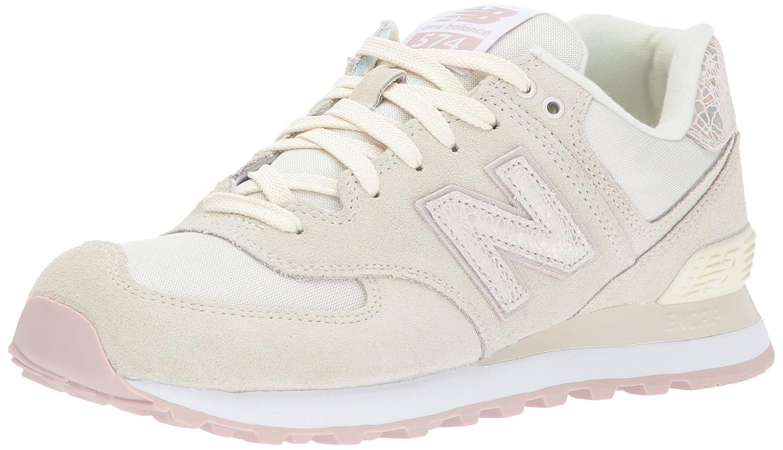 New Balance 574, Zapatillas de Running Para Mujer 37 EU|Blanco (Off White)