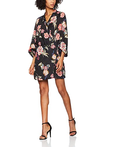New Look Floral Kimono Sleeve, Vestido para Mujer