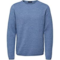 SELECTED HOMME Heren Slhrocky Crew Neck B Noos Pullover