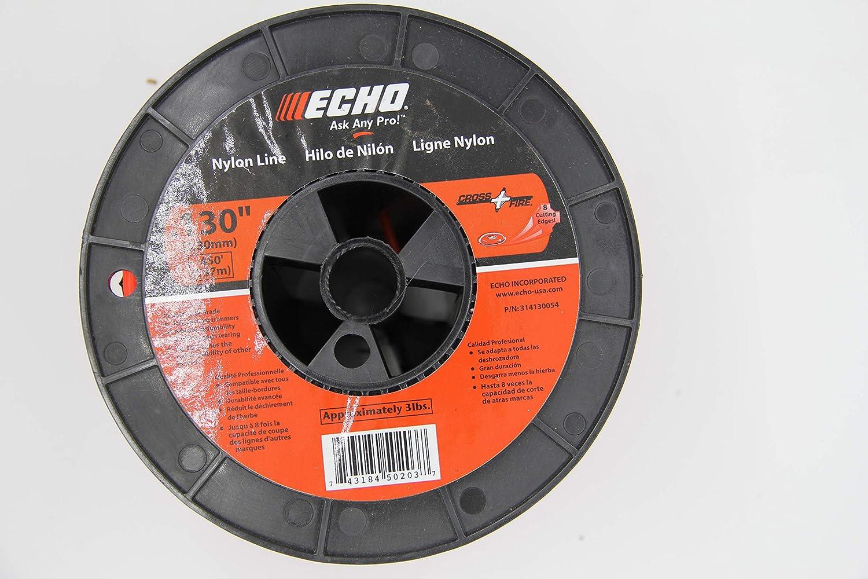 314130054 Echo - 3lb Spool Echo Cross-Fire Trimmer Line .130