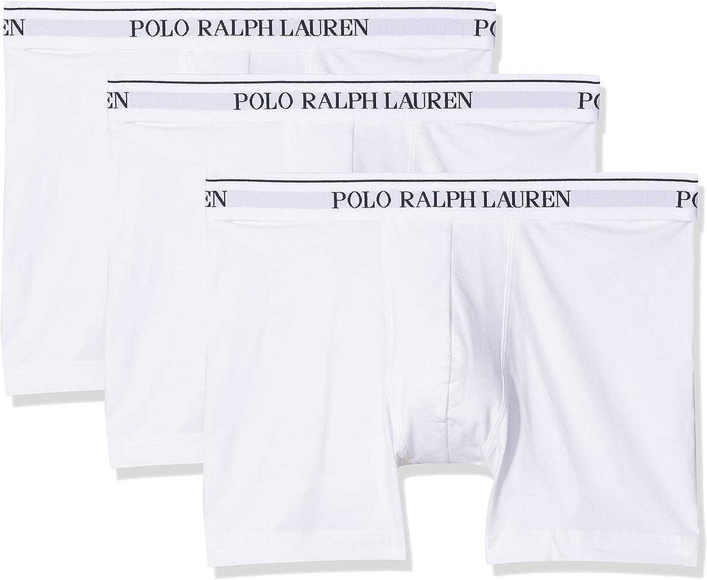 Polo Ralph Lauren Boxer Brief, Calzoncillos para Hombre, Blanco ...