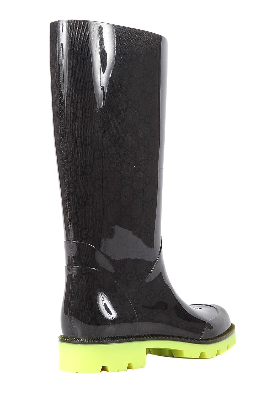 2af49fd8e2d0 Gucci bottes de pluie en caoutchouc femme original noir EU 38 248516 J8710  8369  Amazon.fr  Chaussures et Sacs