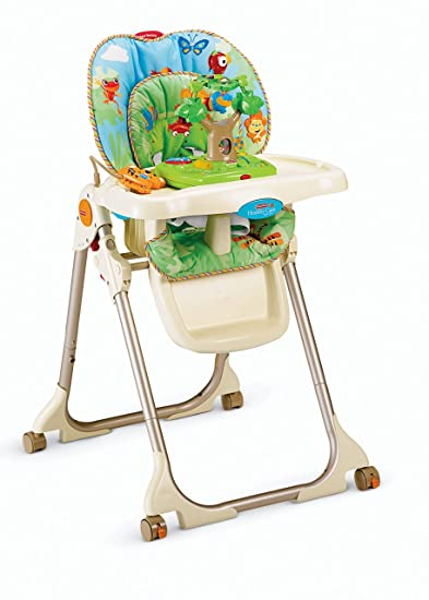 Incroyable Fisher Price Rainforest Healthy Care High Chair
