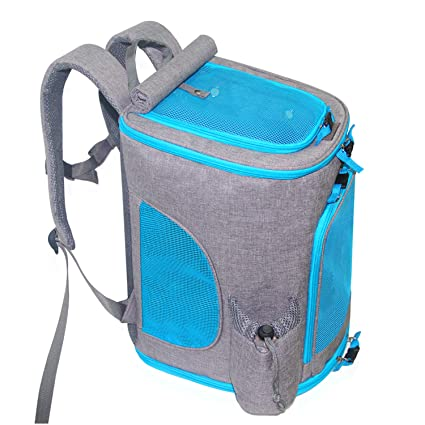 Dog Carrier Backpack, KABB Airline Approved Comfort Good Ventilation Pet  Carrier Backpack for Small Cats 2340b77905