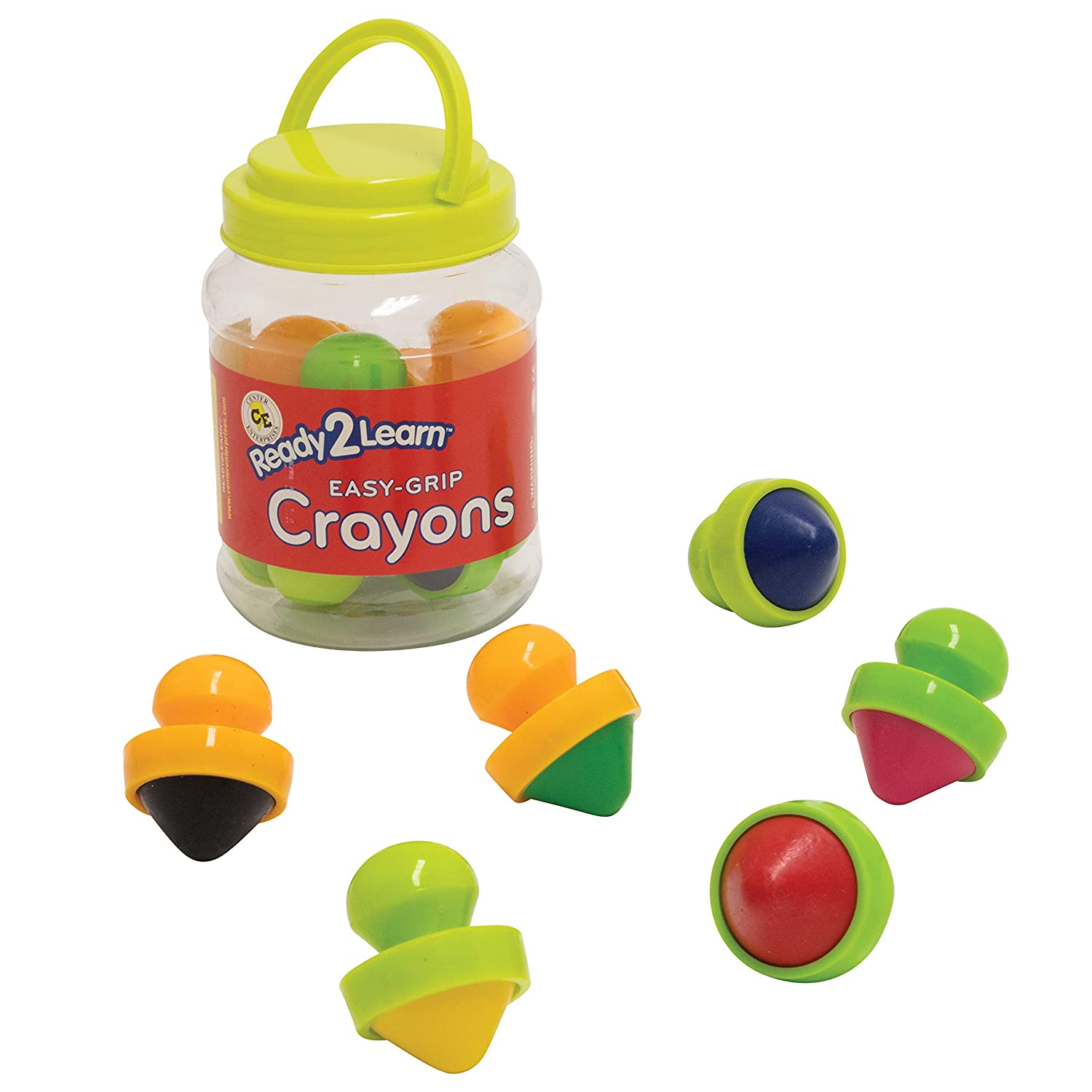 Center Enterprises Inc Ready2Learn Easy Grip Crayons