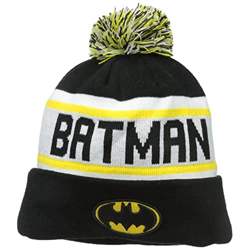 f8361cce8819f New Era Cap Men s Batman Biggest Fan Redux Pom Knit Beanie