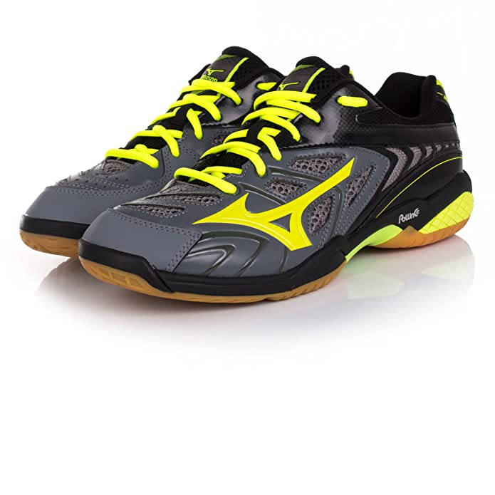 best website a78aa 3e5f5 Mizuno Wave Fang SL Indoor Court Shoes  Amazon.co.uk  Shoes   Bags