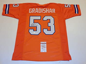 Denver Broncos Randy Gradishar UNSIGNED CUSTOM Made Orange Jersey 6nGaSuVfM
