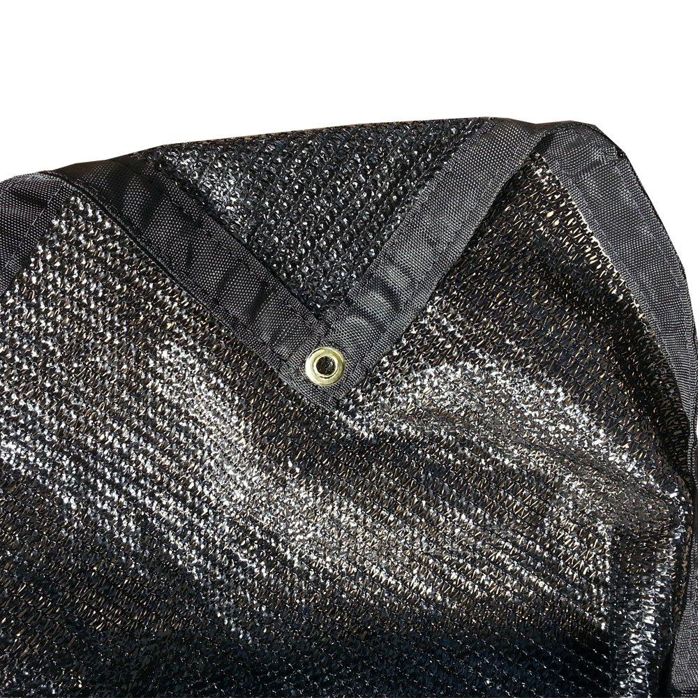 Fjyw mn17-ms50-b2024 50% Stoff, Schatten, Sonne Schatten, Segeln, schwarz Farbe, 20 'x 24'