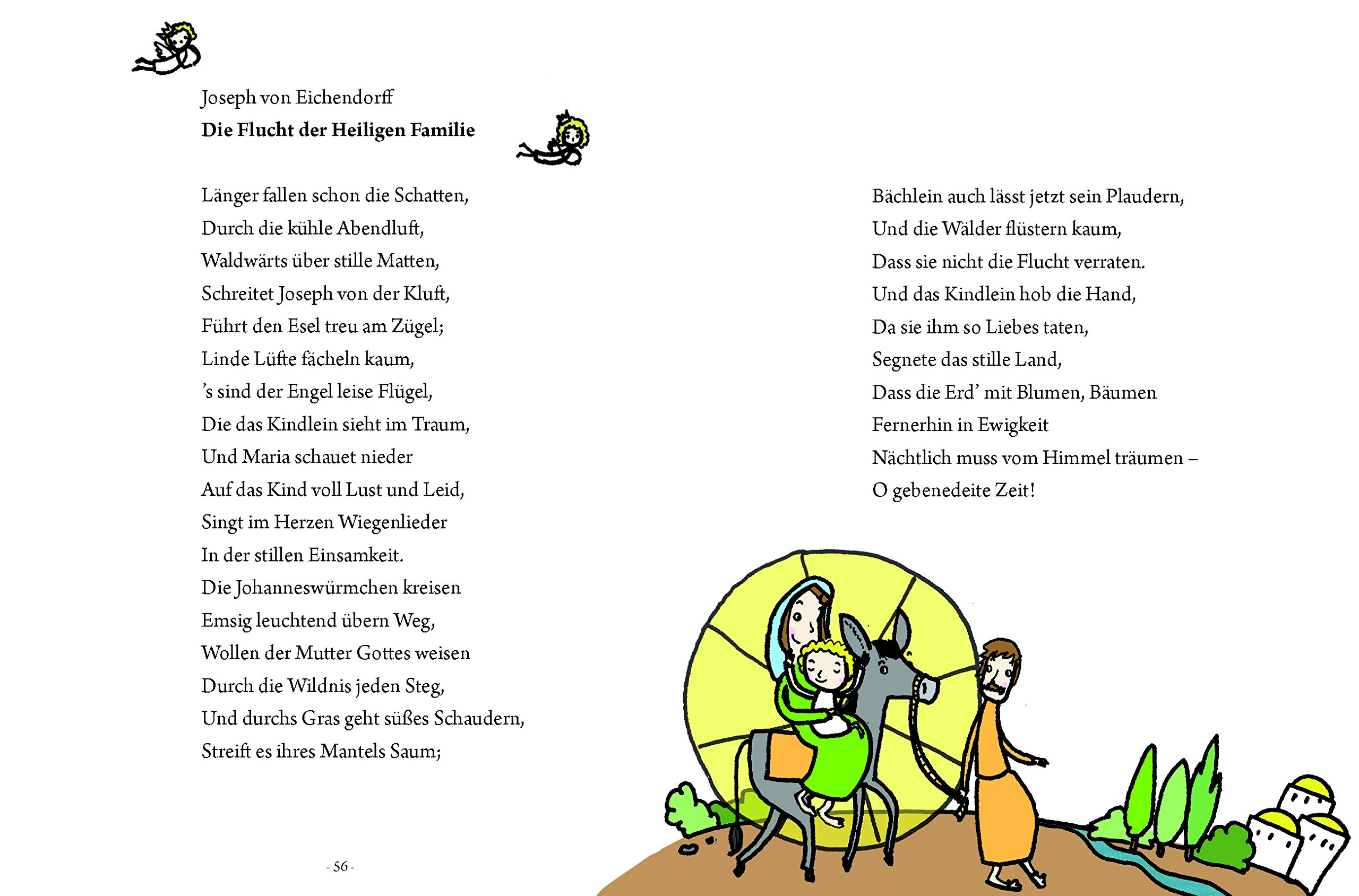 Weihnachtsgedichte Kinder Grundschule.Das Große Kleine Buch Weihnachtsgedichte Für Kinder Amazon De