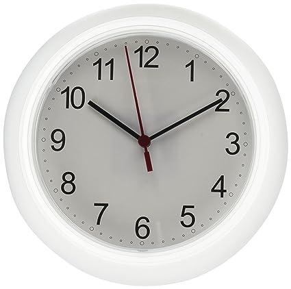Ikea Rusch 25 x 4 cm Orologio da Parete, Bianco: Amazon.it: Casa e ...