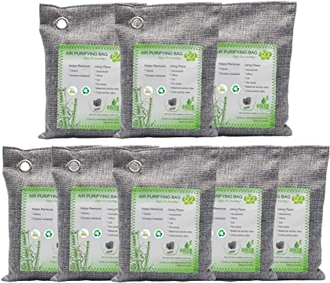 Deodorizer Neutralizer NatureGuise Activated Bamboo Charcoal Air Purifying Bag