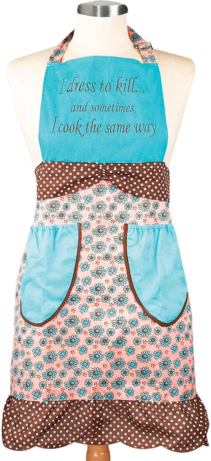 Amazon.com: Manual Vintage Style Kitchen Apron, Dress to Kill: Home ...
