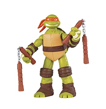 Turtles - Muñeco de Michelangelo (30 cm) [importado]: Amazon ...