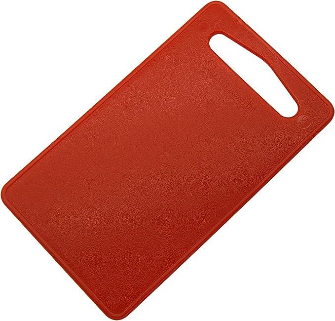 Fackelmann Tabla Cocina 24X14Cm, Polietileno LLDPE, Rojo, 24 x 14 x 0.5 cm