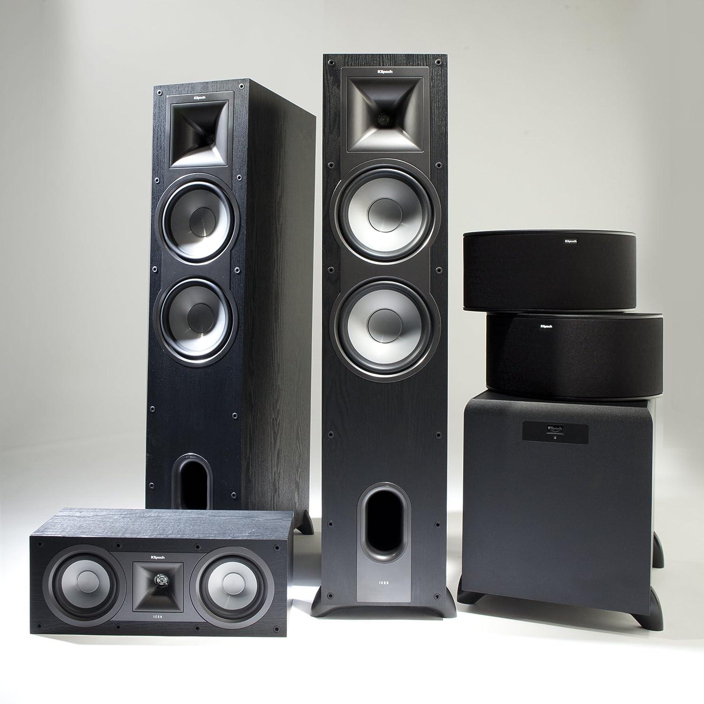 Amazon Klipsch KF 28 Icon Dual 8 Inch 2 Way Floorstanding Speaker Black Ash Home Audio Theater