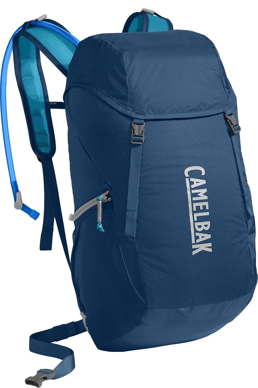 Camelbak 1109401900ハイドレーションバックパックArete 22 Poseidon/Vivid Blue   B01L8MWC6I
