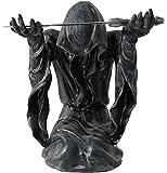 Dekofigur Skelett mit Schwert Totenkopf Gothic Mystic Dekoration Figur
