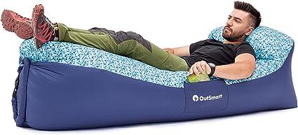 Amazon.com: OutSmart - Tumbona hinchable para interior y ...