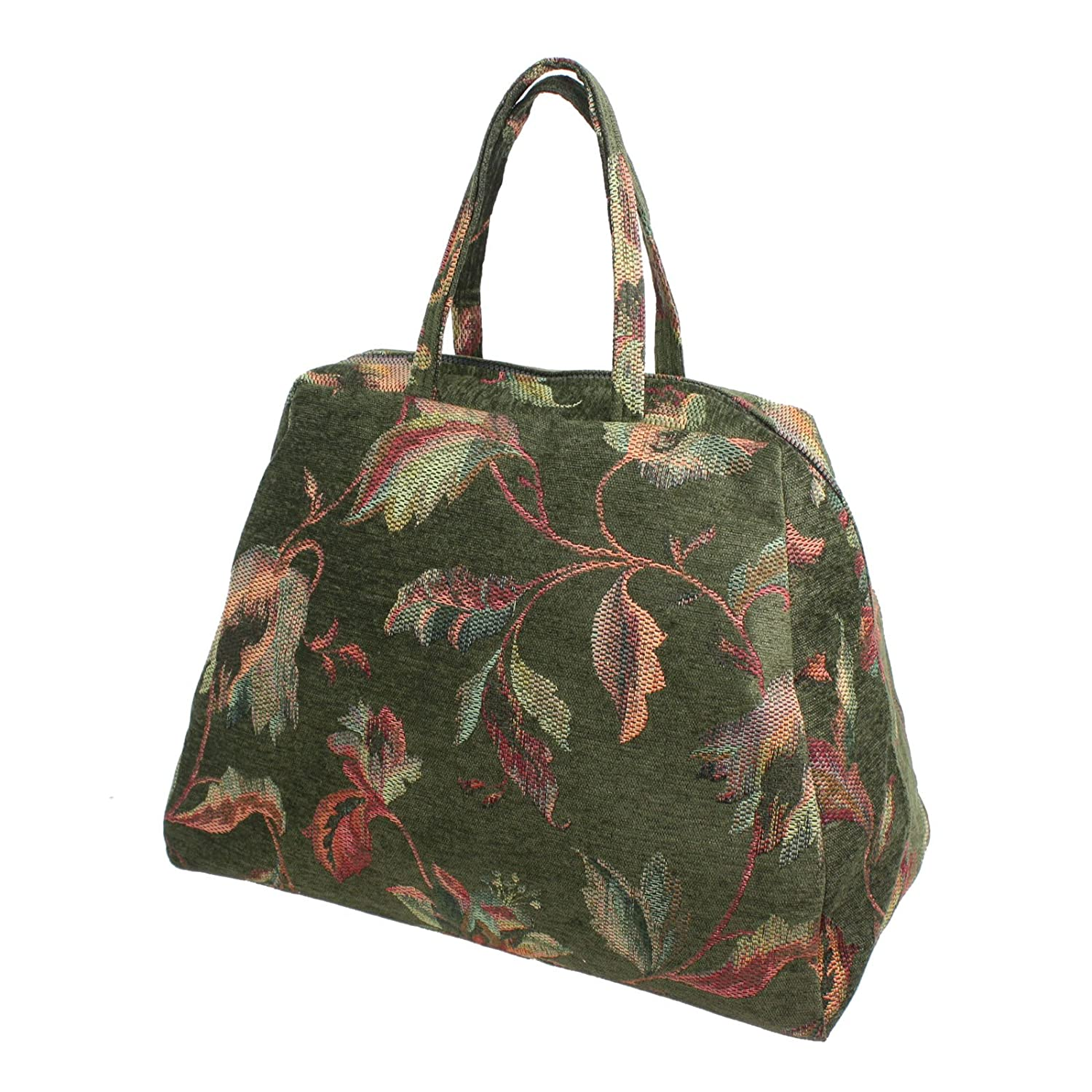 Vintage & Retro Handbags, Purses, Wallets, Bags Deluxe Mary Poppins Carpet Bag $98.88 AT vintagedancer.com