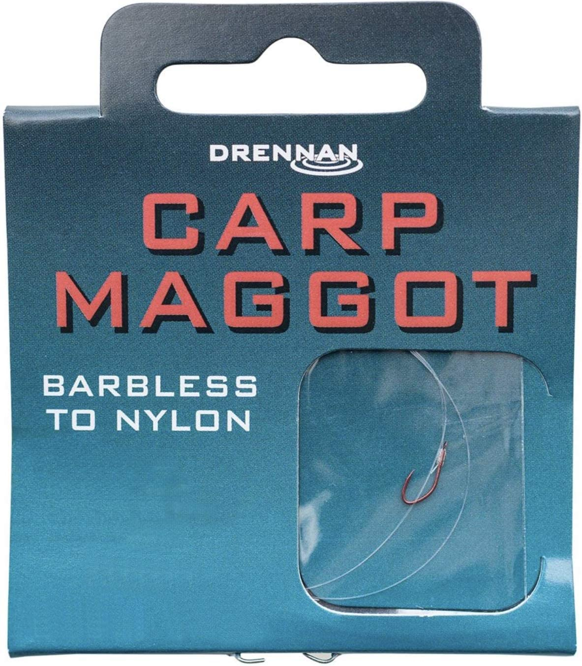 Drennan Barbless Carp Maggot Hooks To Nylon