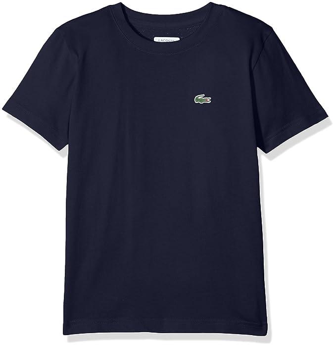 8c58de24612 Lacoste Camiseta para Niños  Amazon.es  Ropa y accesorios