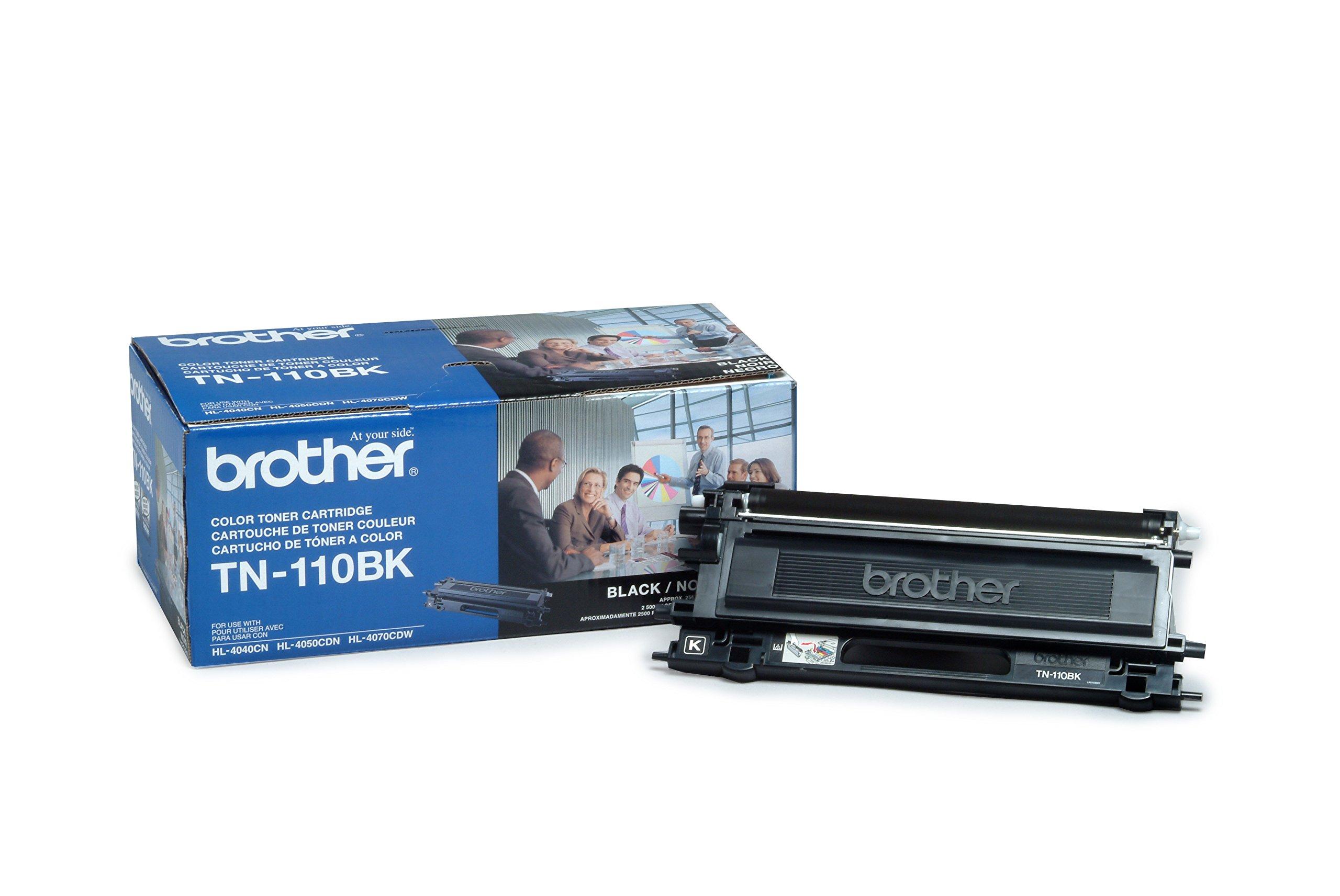 Brother TN110BK Toner Cartridge, Black