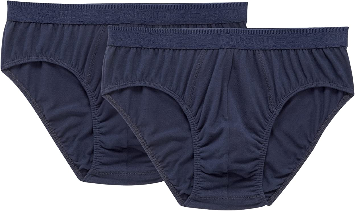 TALLA 46. Fruit of the Loom Bóxer (Pack de 2) para Hombre