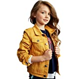 kidpik Girls Jean Jacket – Cute Colored Denim Jackets