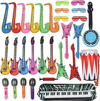Amazon.com: Max Fun - Juego de juguetes inflables de ...