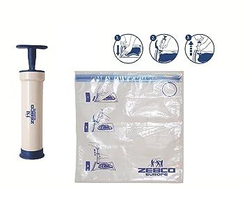 Zebco - Bomba para envasar al vacío (incluye bolsa de 1 L)