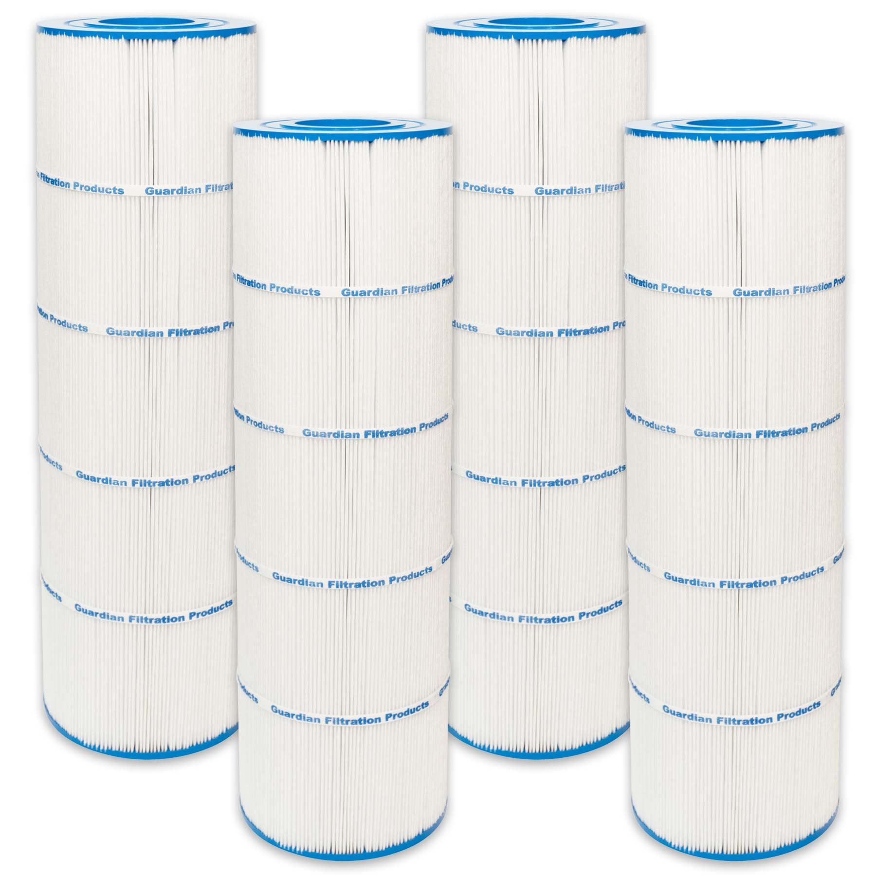 4 Guardian Pool Spa Filter Replaces PA100N, Unicel: C-7487, Filbur: FC-1270, CX870-XRE, C4000 Hayward by Guardian Filtration Products
